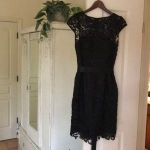 Black Cocktail Dress Adrianna Papell Size 4